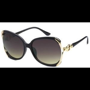 Black &Gold Sunglasses
